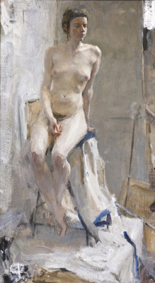 Samir Rakhmanov. Nude Model in Contre Jour