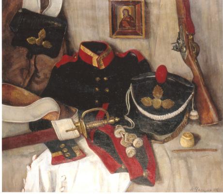 Aleksandr Chagadaev. Memory of 1812