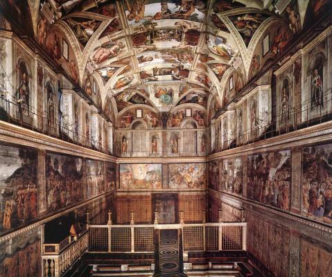 Michelangelo Buonarroti. The Sistine chapel