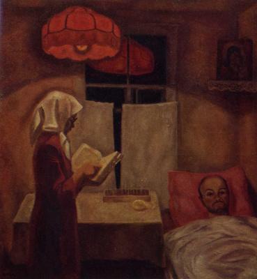 Виктор Ефимович Попков. Мать и сын