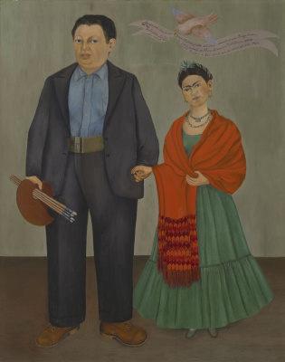 Frida Kahlo. Frida and Diego Rivera