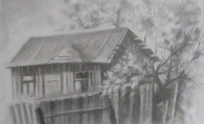 Ivan Vasilyevich Kovacs. Old house