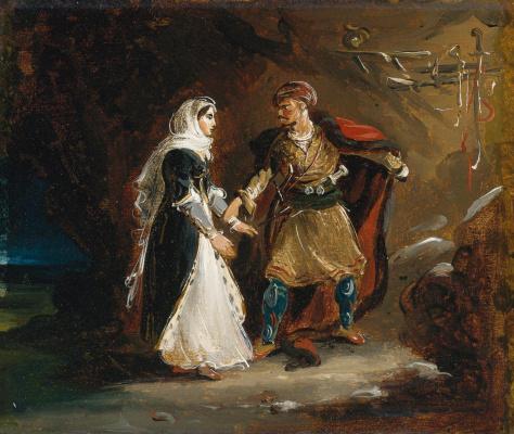 Теодор Жерико. Абидосская невеста