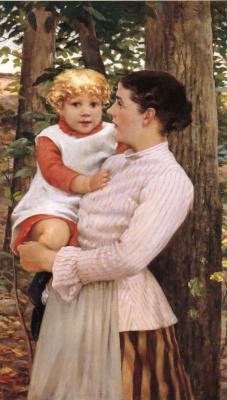 Джеймс Кэрролл Беквит. Мать с ребенком