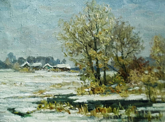 Victor Vladimirovich Kuryanov. Early winter