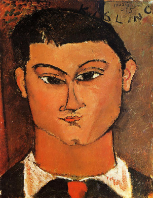 Amedeo Modigliani. Portrait Of Moses Kisling