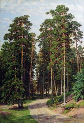 Ivan Ivanovich Shishkin. Sun in the forest