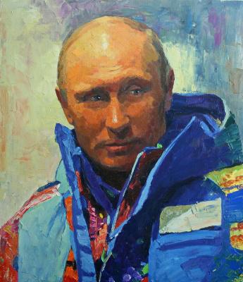 Михаил Рудник. Путин В.В.
