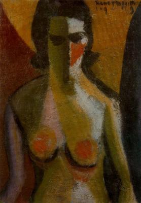 René Magritte. Nude