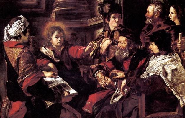 Джованни Серодине. Христос, проповедующий в храме