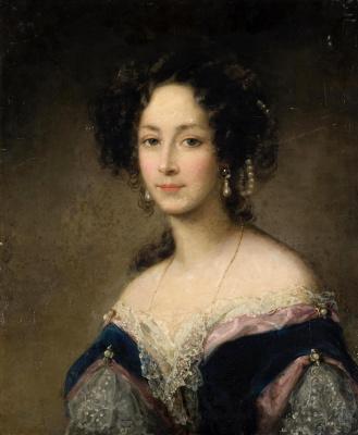 Кристина Робертсон. Портрет княгини Зинаиды Ивановны Юсуповой. 1840-е