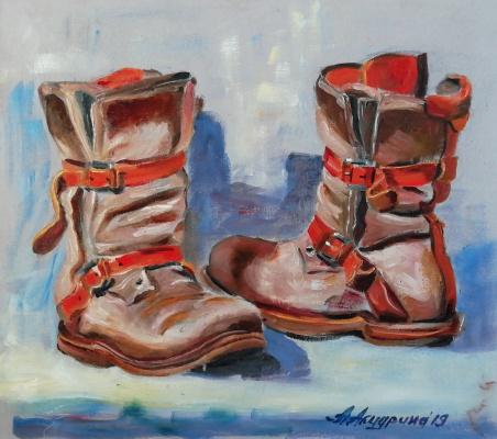 Anna Akchurina. Shoes
