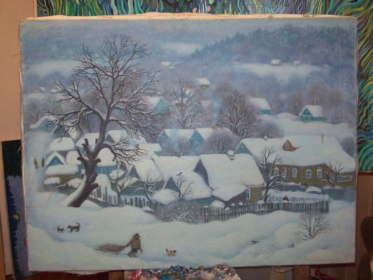 Зима.Луцино.
