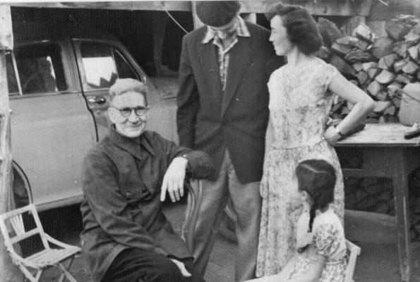 Nadezhda Nikolaevna Rusheva. Family Rosewich and Vladimir Ermolaev