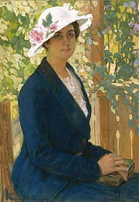 Ivan Goryushkin-Sorokopudov. Portrait Of N. In. Masirewa. 1915