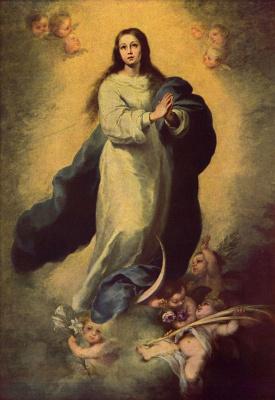 Bartolomé Esteban Murillo. Madonna Immaculata