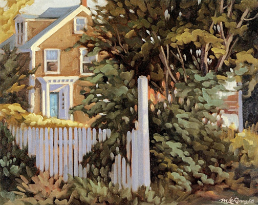 Мишель Леру. Окно в сад