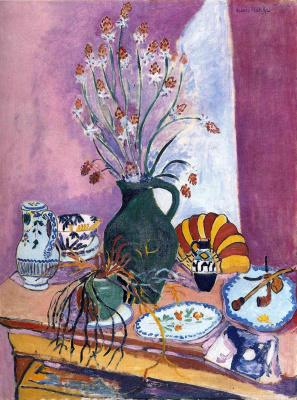 Анри Матисс. Натюрморт с цветами