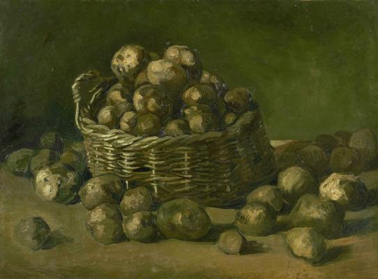 Винсент Ван Гог. Корзина картошки