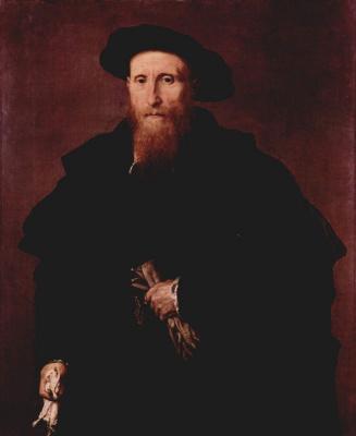 Lorenzo Lotto. Portrait of a noble gentleman