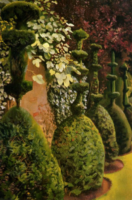 Stanley Spencer. Shrubs