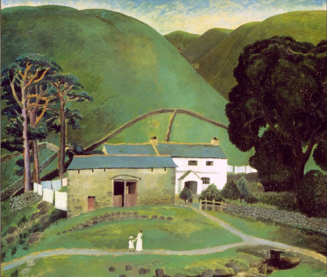 Leonora Carrington. Farm near mount Watendlath (the authorship is not proven)