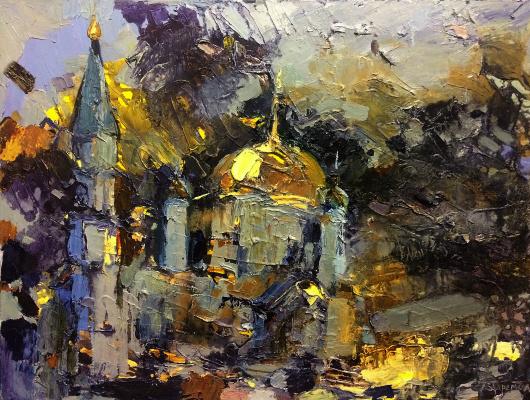 "Polina Evgenevna Zaremba. ""Assumption Cathedral"""