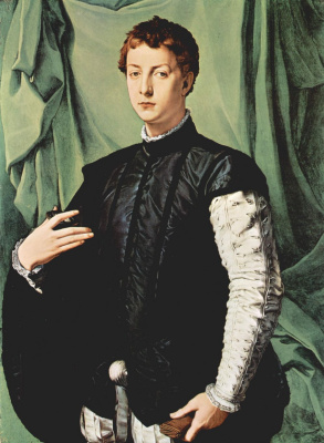 Agnolo Bronzino. Portrait of Louis Kapponi