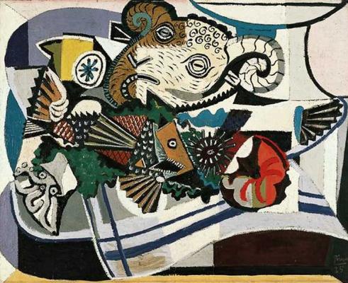 Пабло Пикассо. Голова барана