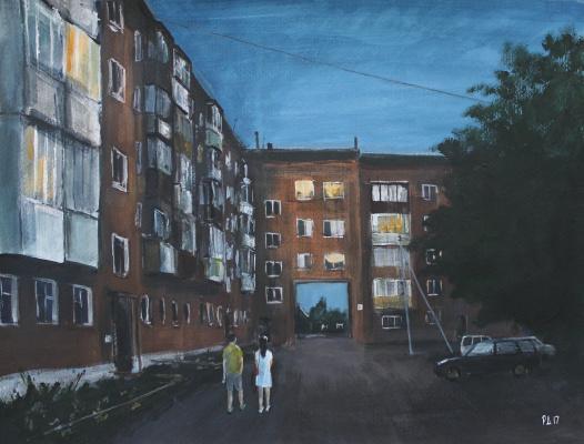 Denis Grigorievich Rusakov. Summer night