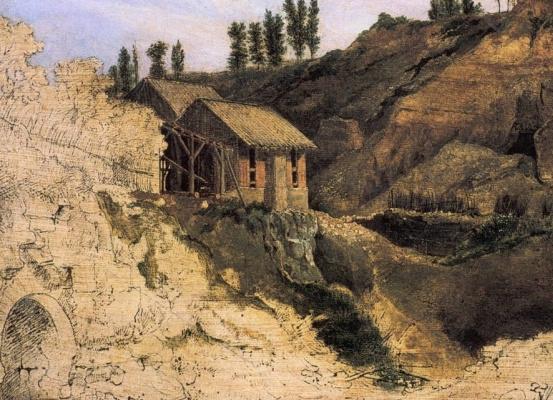 Theodore Rousseau. Landscape
