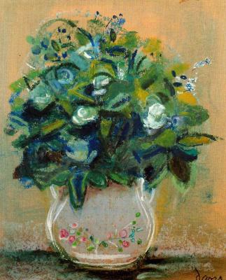 Данс Мария Антония Боадо. Цветы