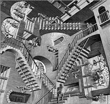 Maurits Cornelis Escher. Relativity