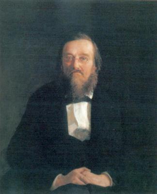 Николай Николаевич Ге. Портрет историка Николая Ивановича Костомарова