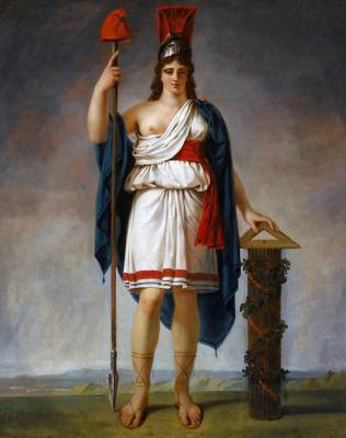Антуан-Жан Гро. Аллегорическая фигура республики
