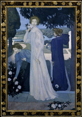 Maurice Denis. Portrait of Yvonne Lerolle three angles
