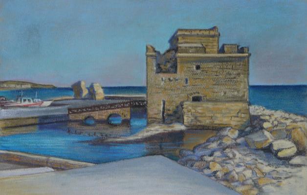 Irina Soboleva. The old Fort in Paphos