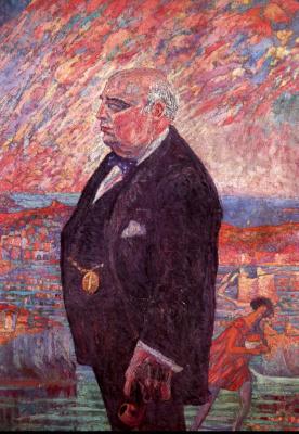 Сальвадор Дали. Портрет отца художника