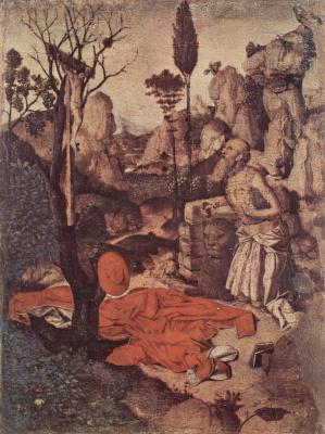 Антонелло да Мессина. Кающийся Иероним