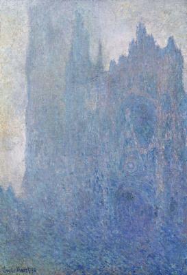 Клод Моне. Руанский собор в тумане
