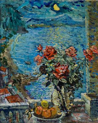 David Davidovich Burliuk. Italy