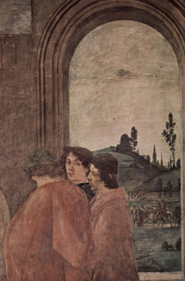 Filippino Lippi. The martyrdom of Peter (fragment)