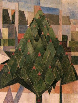 Theo van Dusburg. Tree