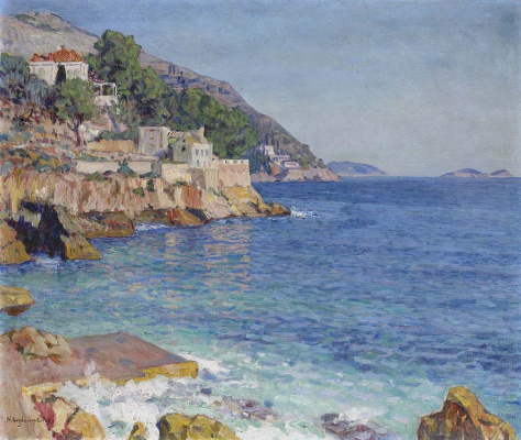 Nikolay Petrovich Bogdanov-Belsky. South sea landscape