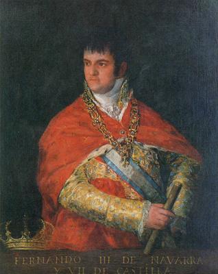 Франсиско Гойя. Фернандо III Наварры и VII Кастилии