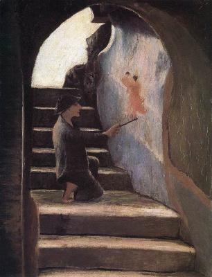 Tivadar Kostka Chontvari. Young artist