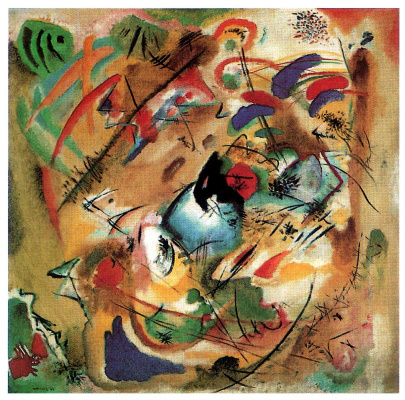 Wassily Kandinsky. Improvisation. Dreamy
