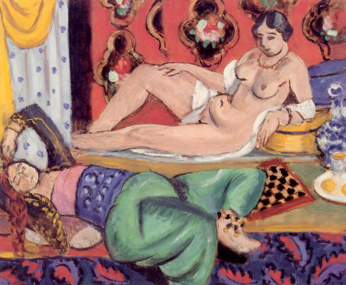 Henri Matisse. Odalisks
