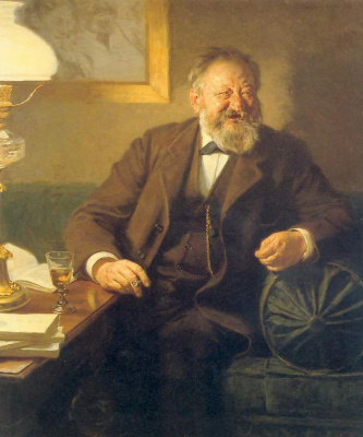 Peder Severin Kreyer. Sophus Schandorf