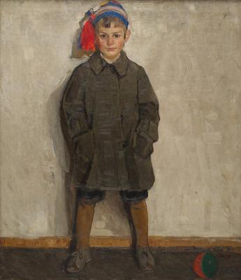 Fedor Grigorievich Krichevsky. Portrait of Vasenka Krichevsky - the nephew of the artist
